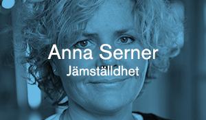 Anna Serner – Jämställdhet