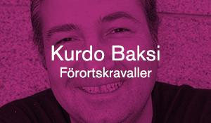 Kurdo Baksi – Förortskravaller