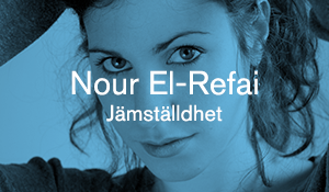 Nour El-Refai – Jämställdhet