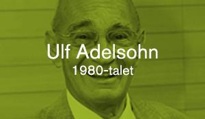 Ulf Adelsohn – 1980-talet