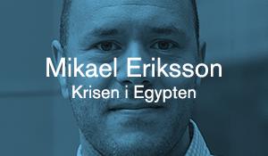 Mikael Eriksson – Krisen i Egypten