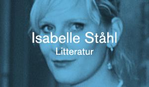 Isabelle Ståhl – Litteratur