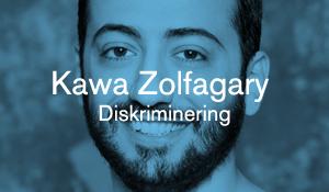 Kawa Zolfagary – Diskriminering