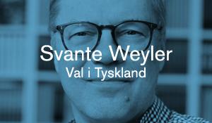 Svante Weyler – Val i Tyskland