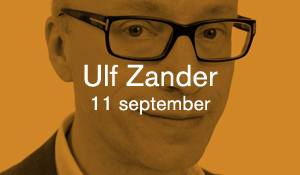 Ulf Zander – 11 september