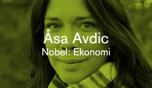 Åsa Avdic – Nobel: Ekonomi