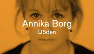 Annika Borg – Döden