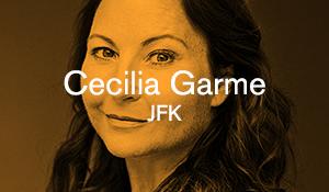 Cecilia Garme – JFK