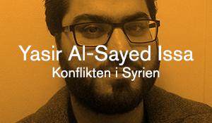 Yasir Al-Sayed Issa – Konflikten i Syrien
