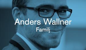 Anders Wallner – Familj