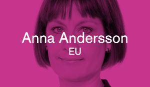 Anna Andersson – EU
