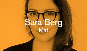 Sara Berg – Mat