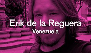 Erik de la Reguera – Protesterna i Venezuela