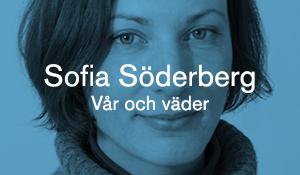 Sofia Söderberg – Vår och väder