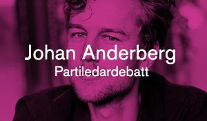 Johan Anderberg – Partiledardebatt