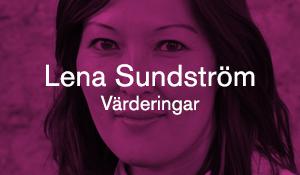 Lena Sundström – Värderingar