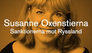 Susanne Oxenstierna – Sanktionerna mot Ryssland