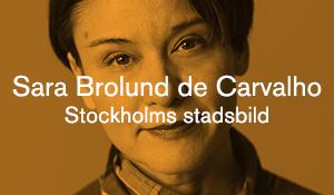 Sara Brolund de Carvalho – Stockholms stadsbild