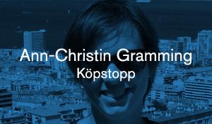 Ann-Christin Gramming – Köpstopp