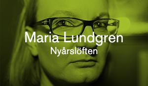 Maria Lundgren – Nyårslöften